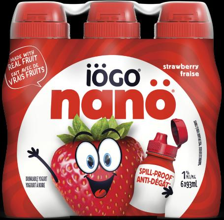 iögo nanö Strawberry Drinkable Yogurt