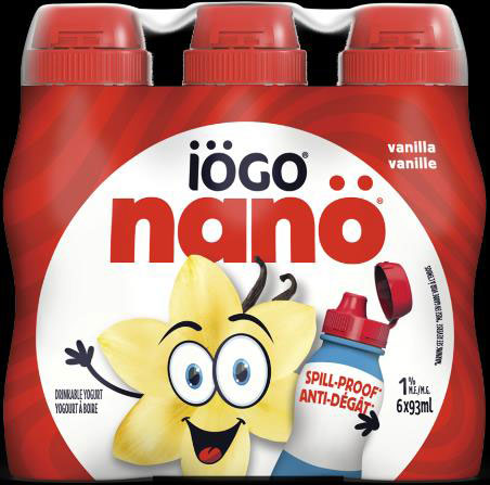 iögo nanö Vanilla Drinkable Yogurt