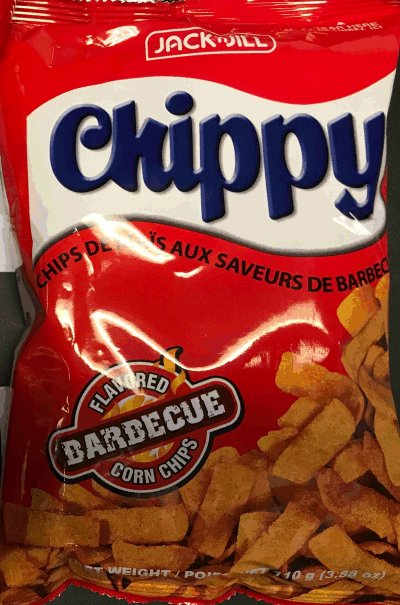 Chippy Barbecue Flavored Corn Chips - 110 gram