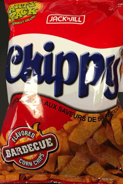 Chippy Barbecue Flavored Corn Chips - 200 gram