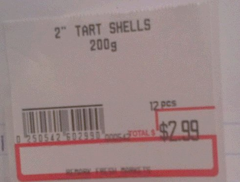 Remark Fresh Markets - 2 inch tart shells 200 grams