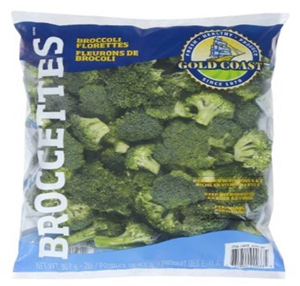 Gold Coast Broccettes - Broccoli Florettes