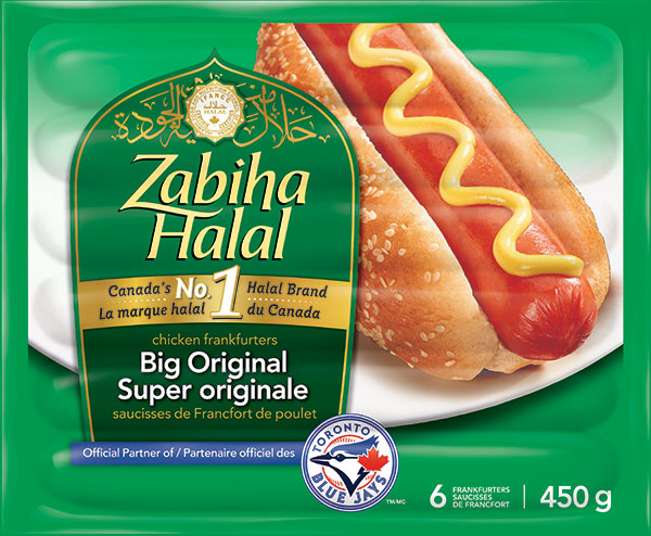 Zabiha Halal	 - Big Original Chicken Frankfurters