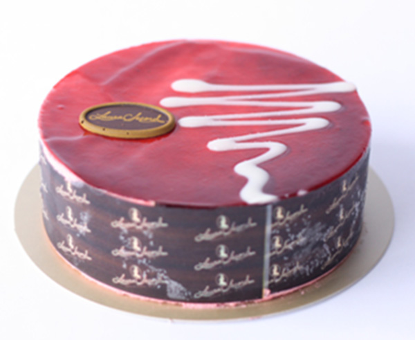 Laura Secord Red Berry Chocolate Mousse Cake, 485 grams