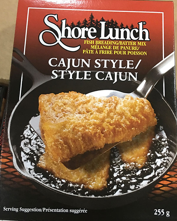 Shore Lunch - Fish Breading/Batter Mix – Cajun Style