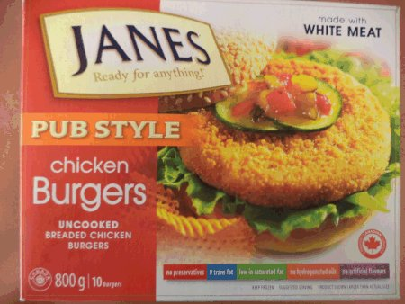 Pub Style Chicken Burgers – Uncooked Breaded Chicken Burgers