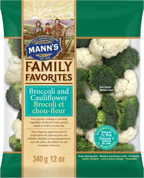 Mann's Family Favorites - Brocoli et chou-fleur