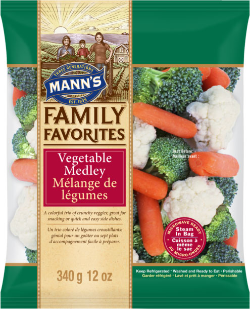 Mann's Family Favorites	Mélange de légumes