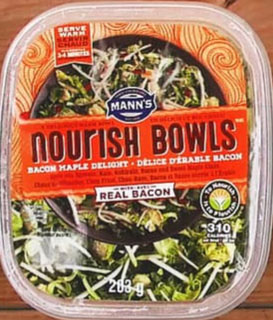 Mann's Nourish Bowls - Délice d'érable Bacon