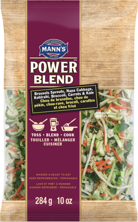 Mann's Power Blend - Brussels Sprouts, Napa Cabbage, Kohlrabi, Broccoli, Carrots & Kale