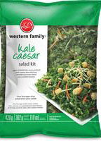 Western Family - « Kale Caesar Salad Kit »