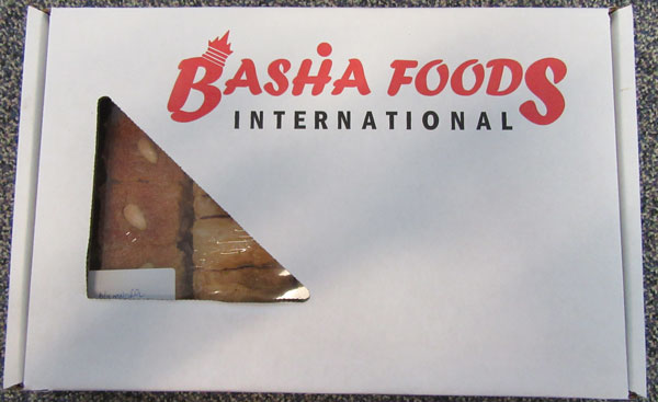 Basha Foods International brand Baklava - 2 pounds