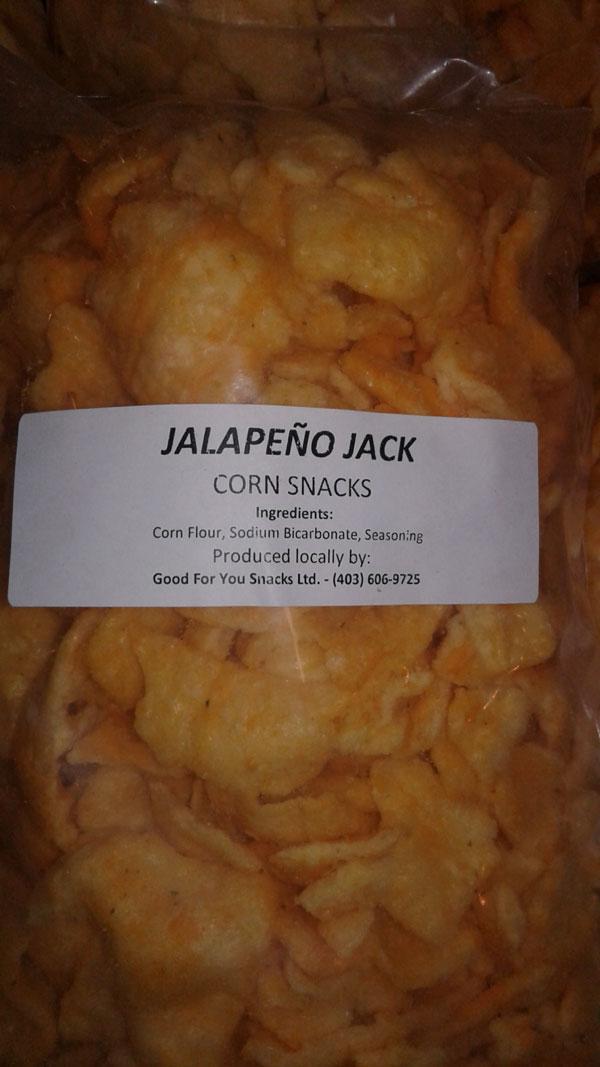 « Jalapeño Jack Corn Snacks » - Format Non déclaré
