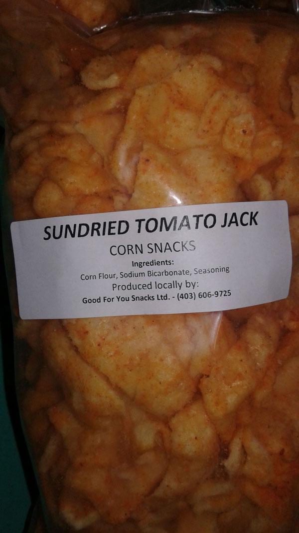 « Sundried Tomato Jack Corn Snacks » - Format Non déclaré