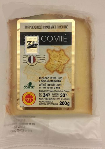Comté Firm Ripened Cheese - Codes - 200 grams