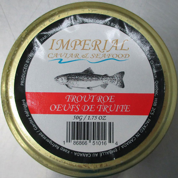 Imperial Caviar & Seafood Trout Roe – 50 grams