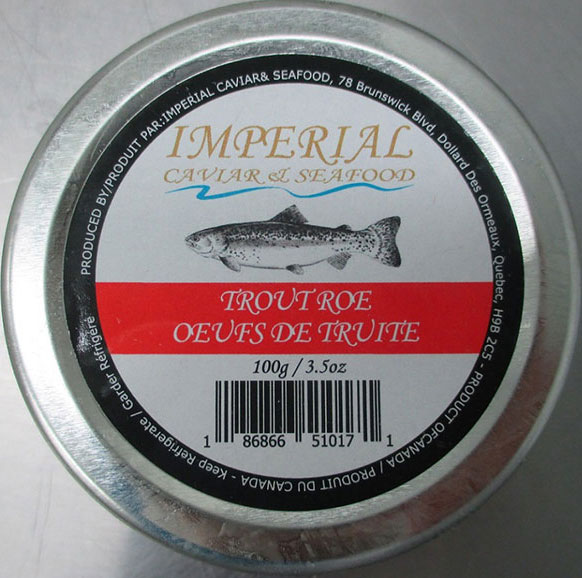 Imperial Caviar & Seafood Trout Roe – 100 grams