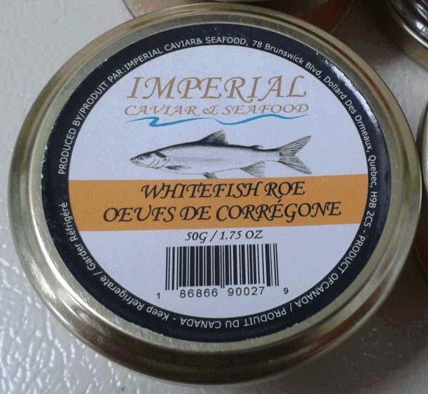 Imperial Caviar and Seafood - Whitefish Roe