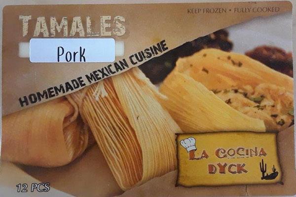 La Cocina Dyck - « Pork Tamales » - 12 morceaux