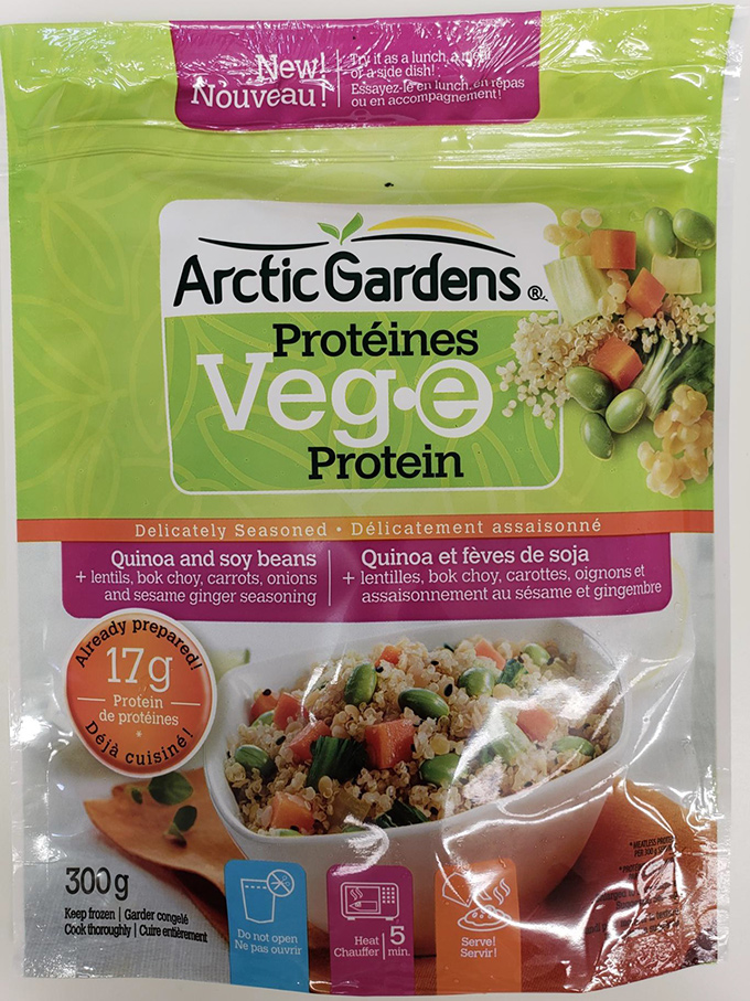Arctic Gardens: Quinoa and Soy Beans – 300 grams