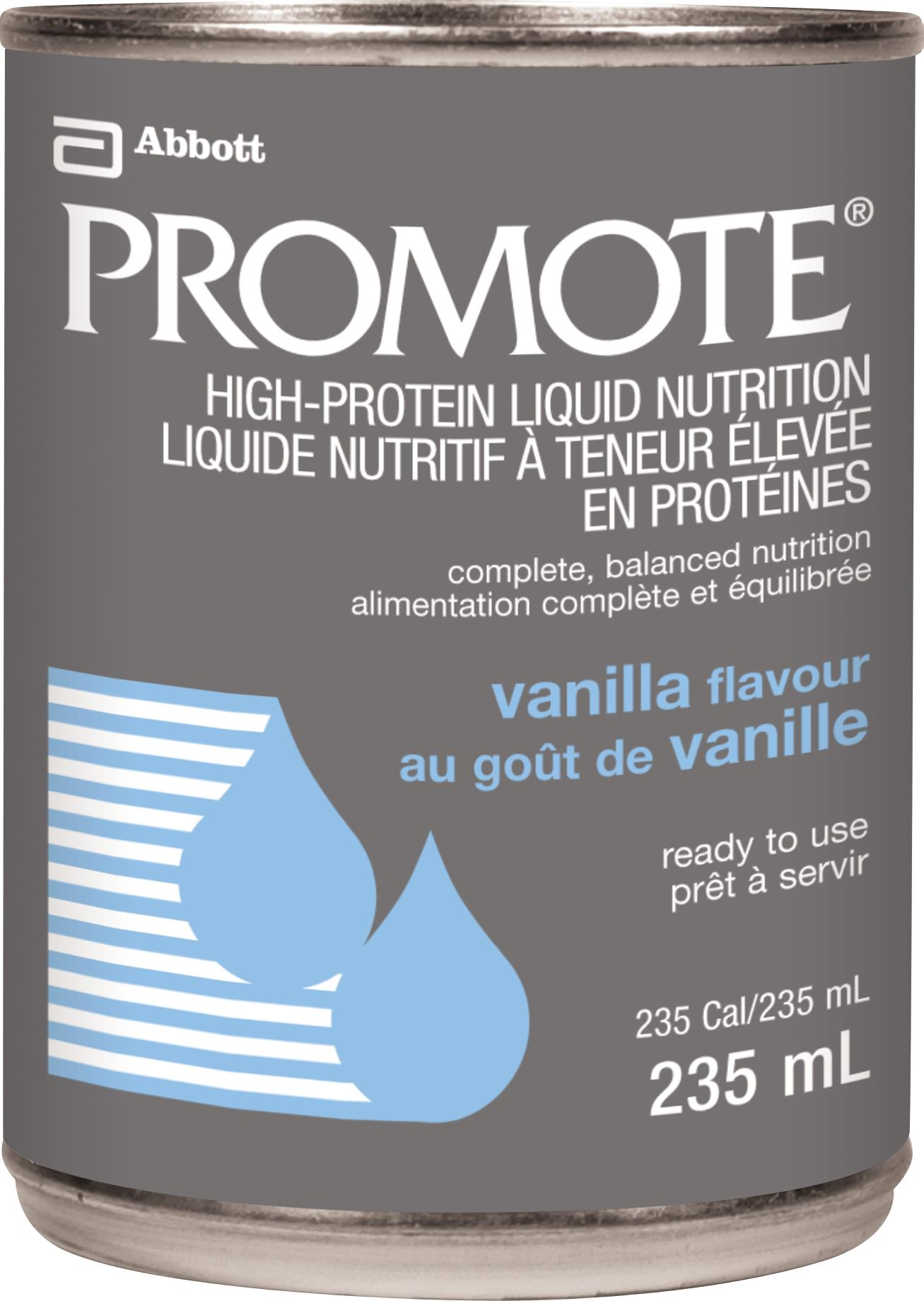 Certain Abbott brand formulated liquid nutrition products in