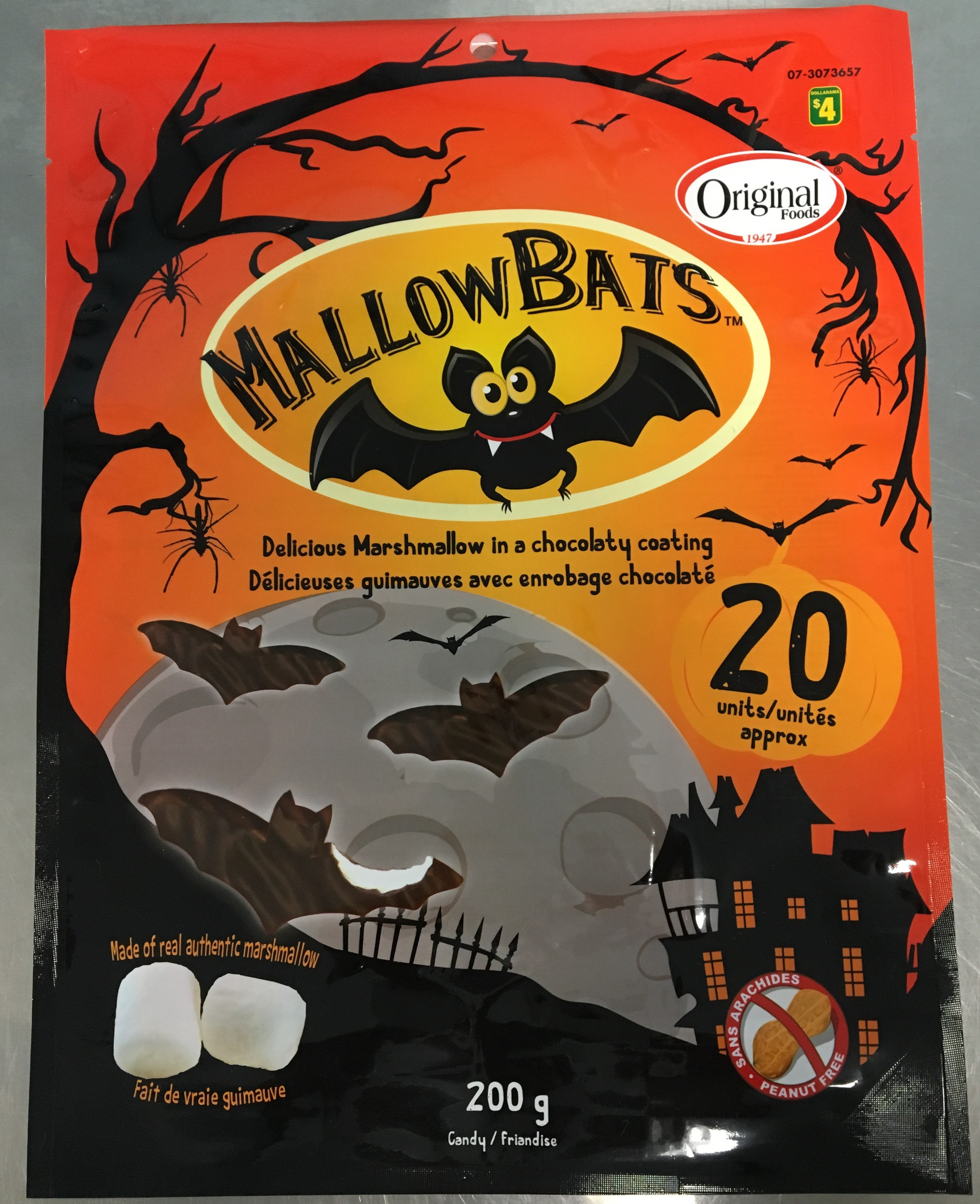 Original Food MallowBats, 200grams