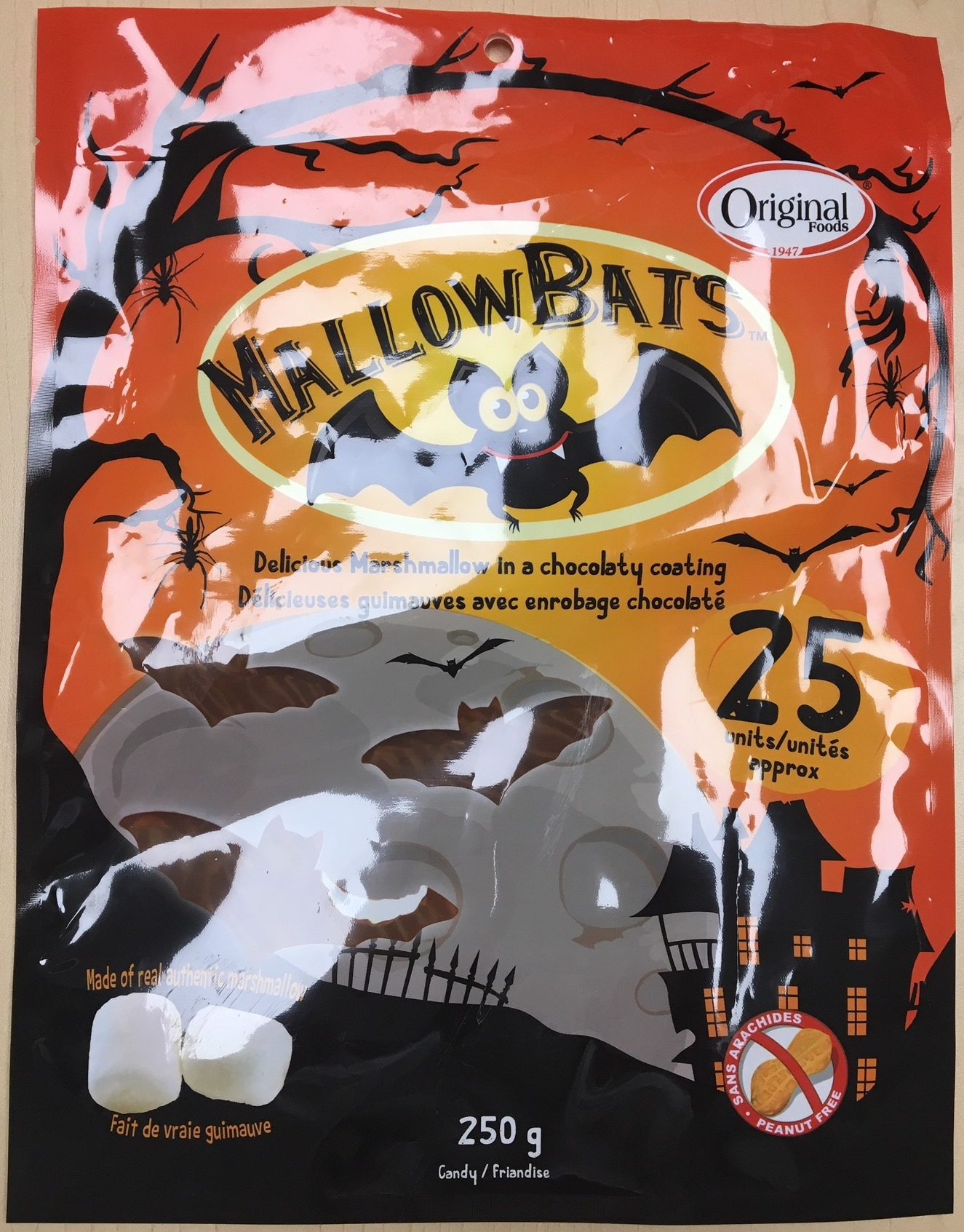 Original Food MallowBats, 250grams