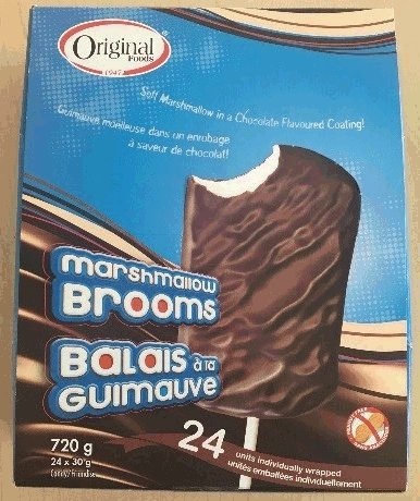 Original Foods - Marshmallow Brooms - outer box - 720 g