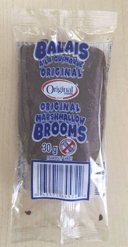 Original Foods - Marshmallow Brooms - inner bag - 720 g