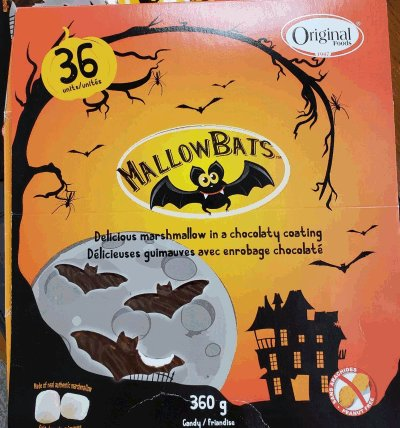 Original Foods - MallowBats - 360 g
