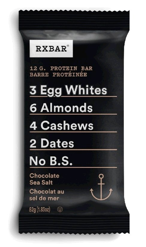 Protein Bar – Chocolate Sea Salt - 52 g