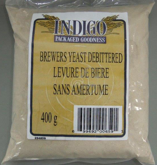 Indigo Packaged Goodness - Brewers Yeast Debittered - 400 grams (front)