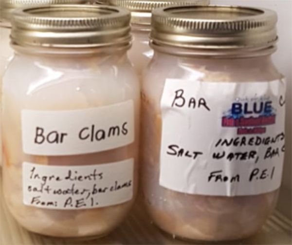 Bottled bar clams recalled due to potential presence of dangerous bacteria - Food Recall Warning