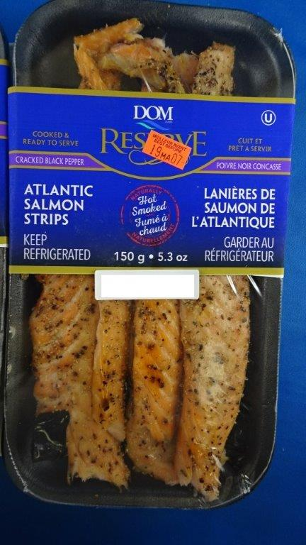 Dom Reserve: Atlantic Salmon Strips: 150 g