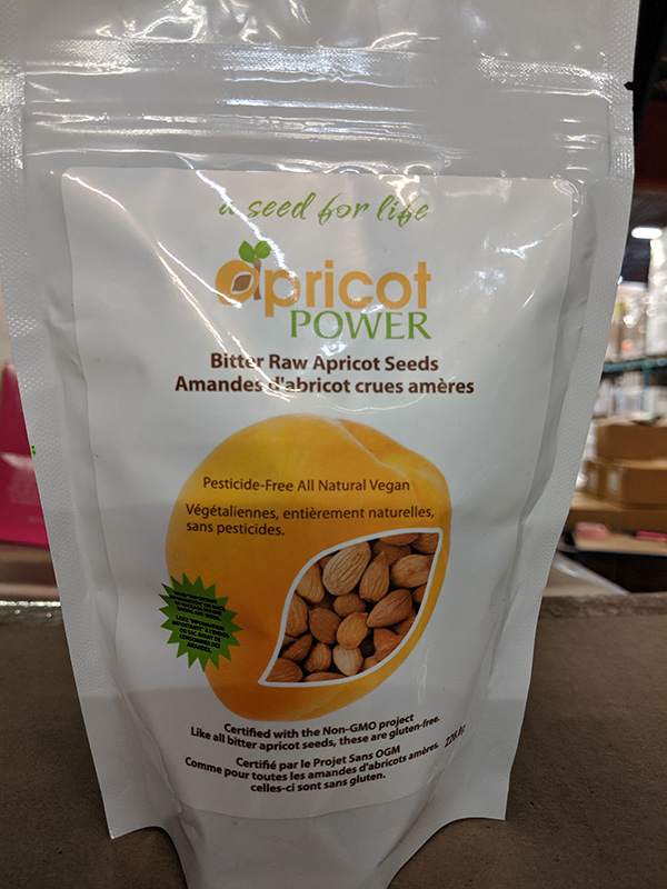 Apricot Power: Bitter Raw Apricot Seeds - 226 grams
