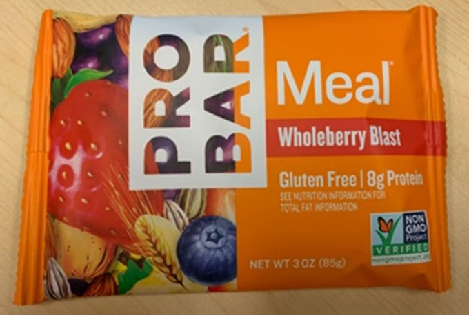 Probar Meal : Wholeberry Blast - 85g