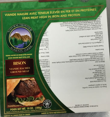 Natural Frontier Foods - Bison – ground meat