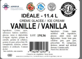 Idéale - Vanilla Ice Cream