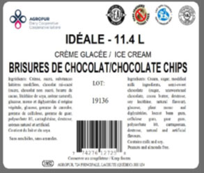 Idéale - Chocolate Chips Ice Cream
