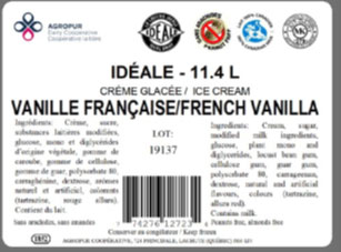 Idéale - French Vanilla Ice Cream