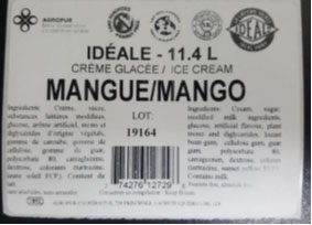 Idéale - Mango Ice Cream
