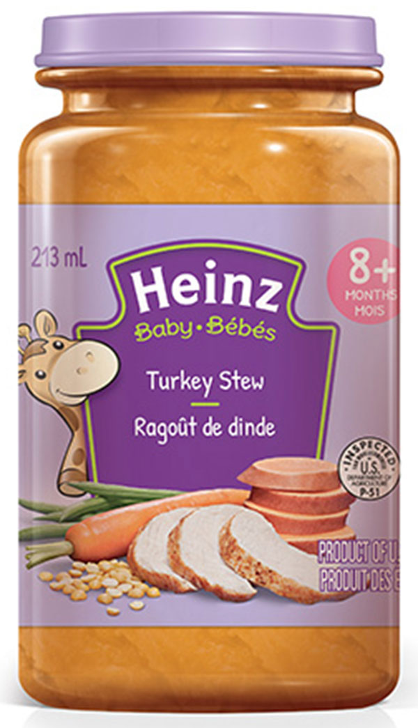 Heinz: Turkey Stew 8+ Months Baby Food - 213 mL