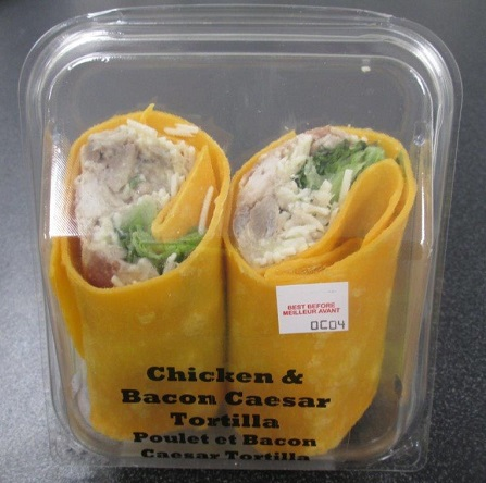 None - Chicken & Bacon Caesar Tortilla (1 unit)