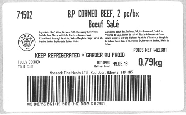 Butcher's Pride - Corned Beef - 2pc