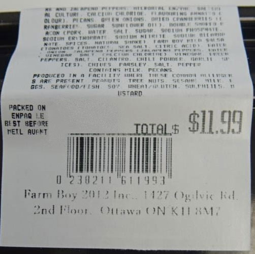 Farm Boy Cheese Ball Trio – 360 grams (UPC)