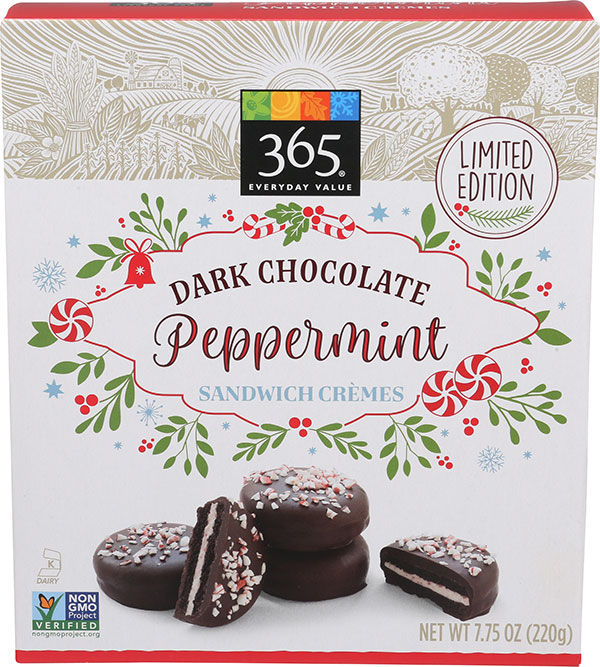 365 Everyday Value - « Dark Chocolate Peppermint Sandwich Crèmes »