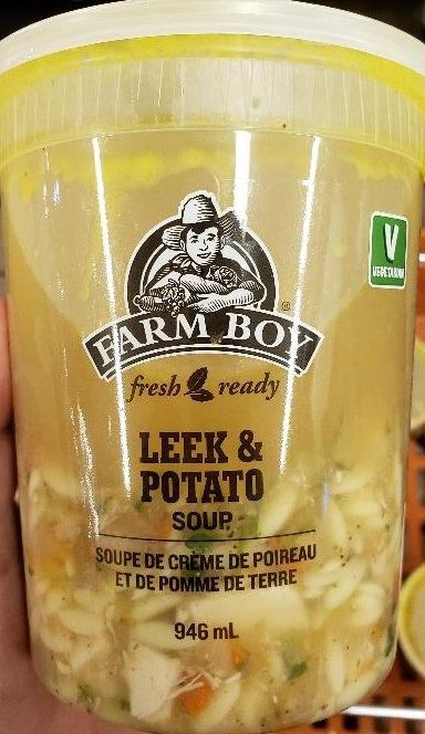Farm Boy - Soupe de crème de poireau et de pomme de terre