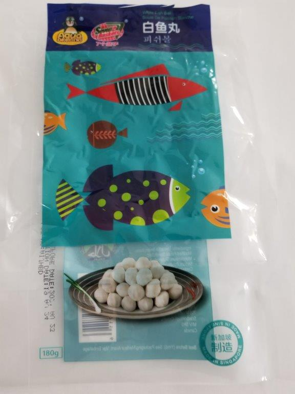 Aqua Okeano / Seven Baskets - White Fish Ball
