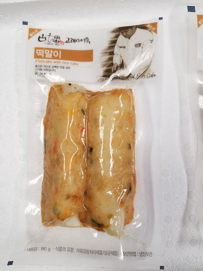 Goraesa : Gateau au poisson (Fishcake with Rice Cake) - 180 g