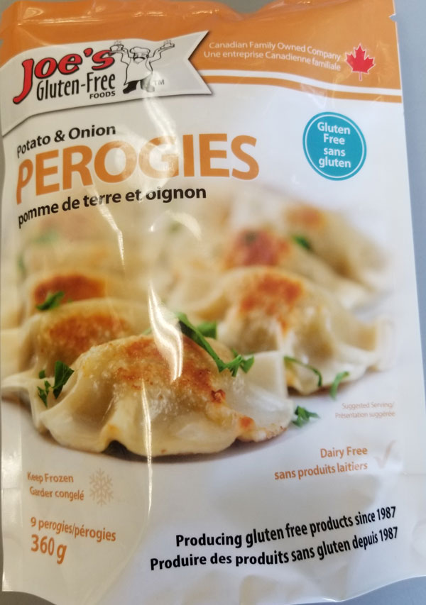 Joe's Gluten-Free Foods - Potato & Onion Perogies